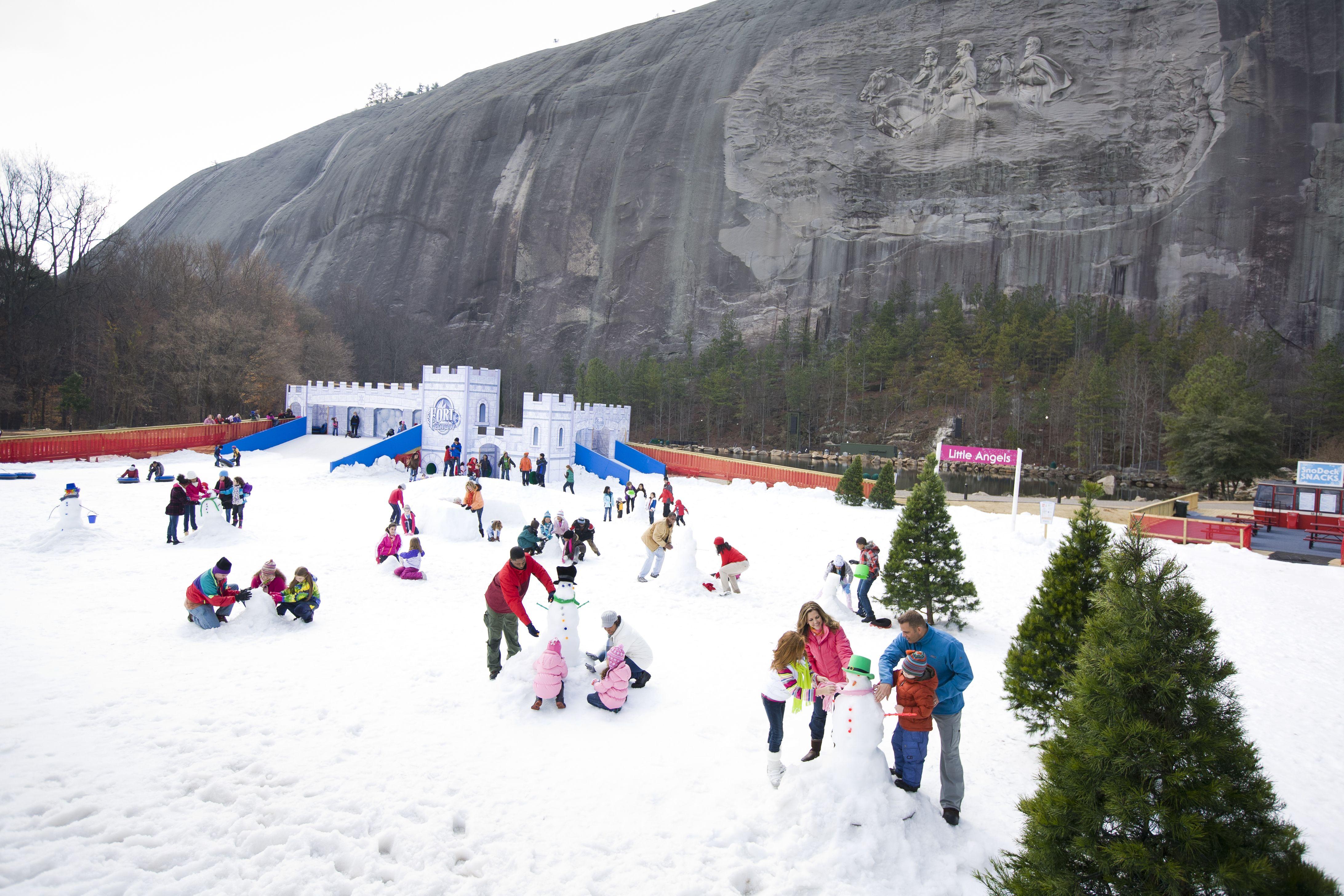Snow in Atlanta? Absolutely! Visit Snow Mountain at Stone
