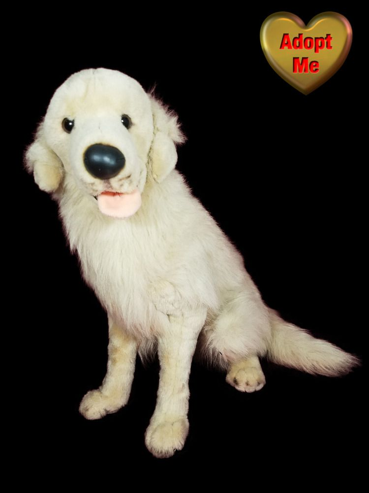 E J Classic 22in Lifelike Realistic Golden Retriever Dog Stuffed