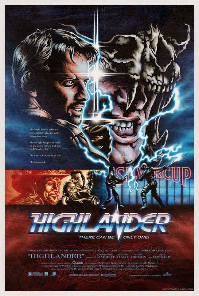 Highlander Movie Poster Film Photo Print  Picture