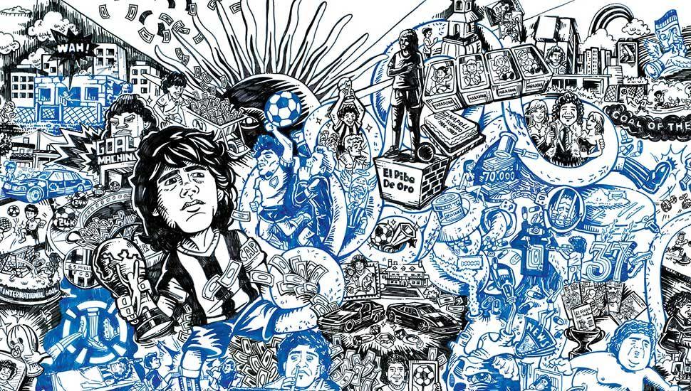 Maradona Illustration Illustration Illustration Art Art