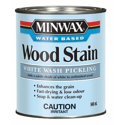 Minwax White Wash Pickling Stain Home Depot Canada Water Based Wood Stain Staining Wood Minwax