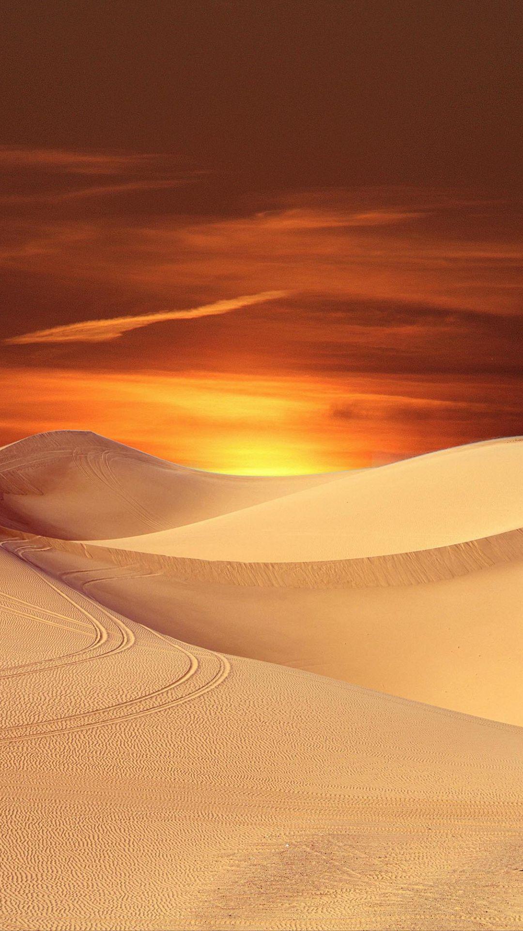 Sunset Sky Dunes Desert Wallpaper Desert Sunset Photography Sunset Landscape Desert Sunset Hd wallpaper sunset desert dunes sand