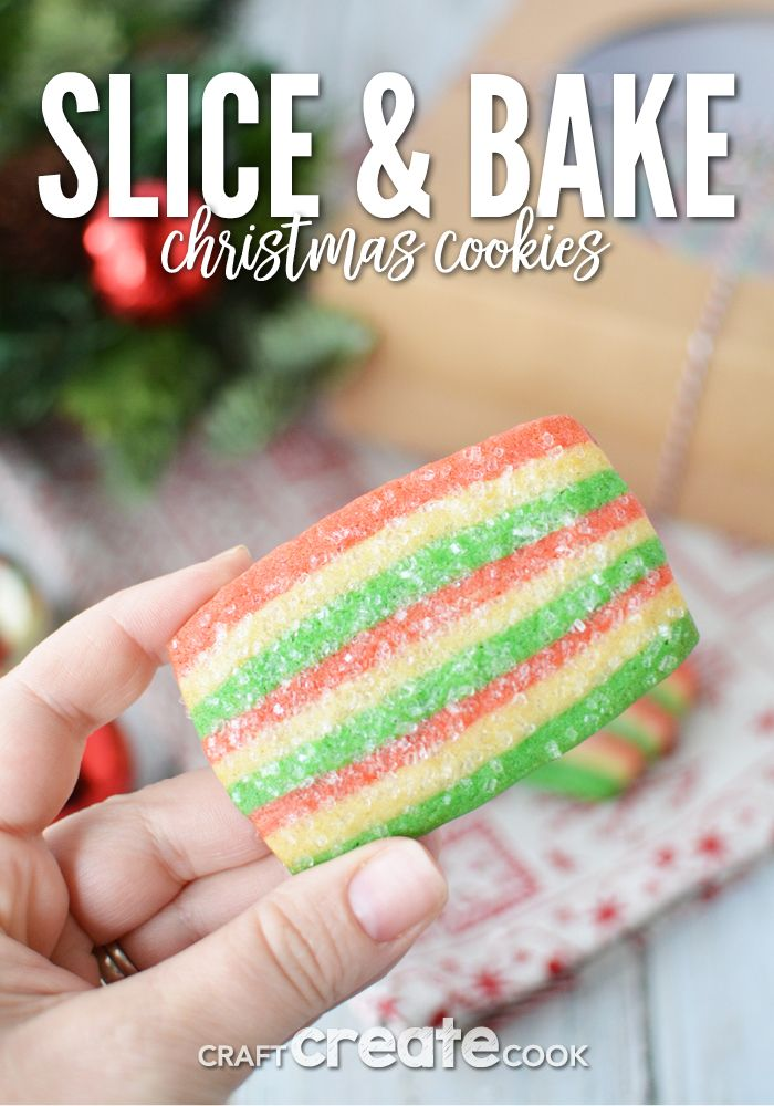 Gluten Free Slice and Bake Cookie for Christmas
