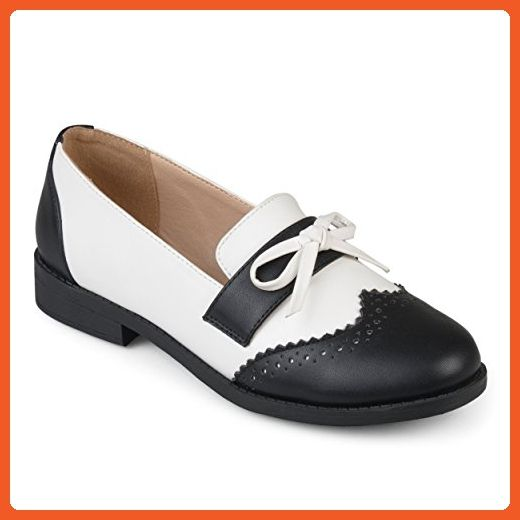 b2948c2fbe3dc Journee Collection Womens Wingtip Bow Oxford Loafers - Oxfords for ...