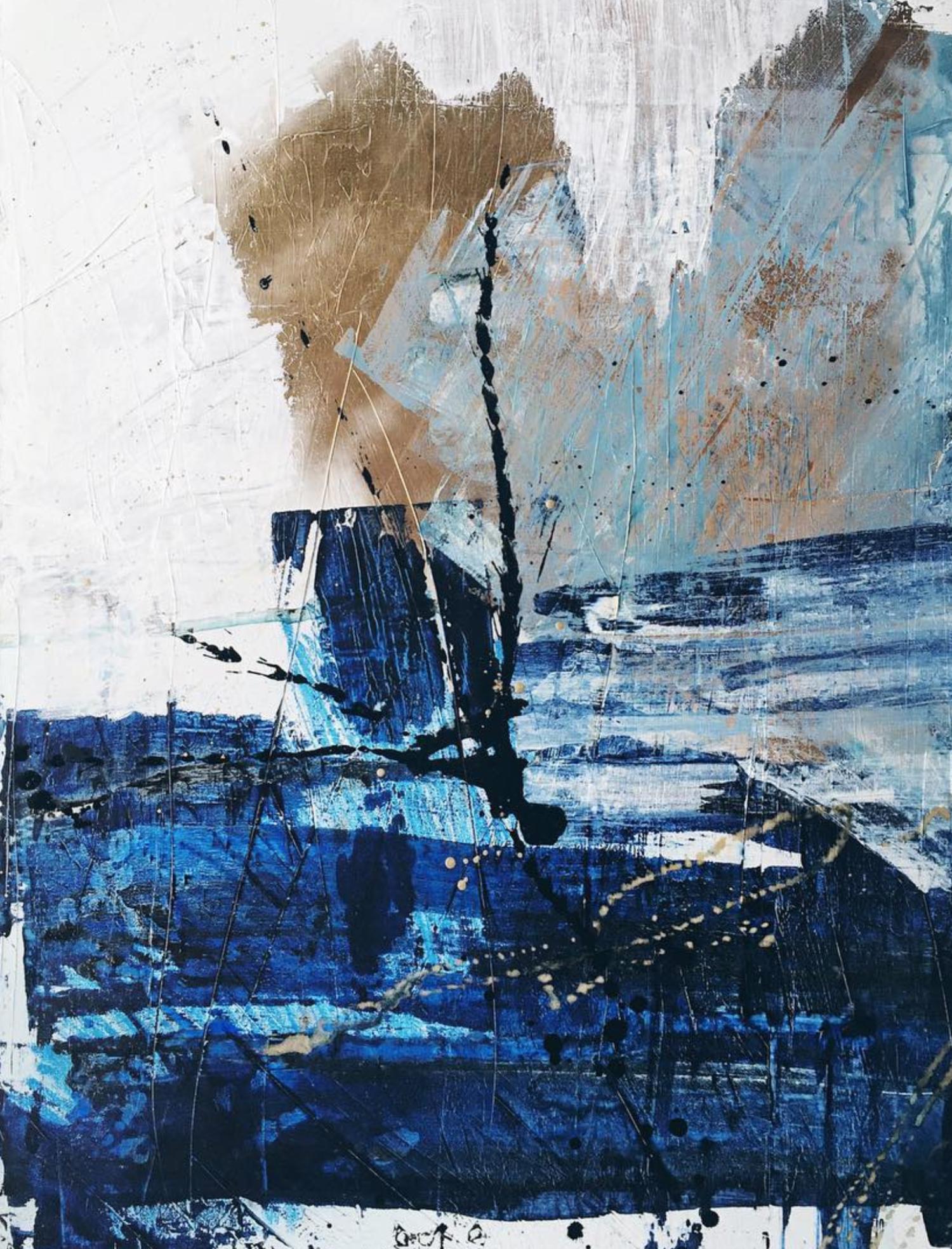 Bryn newman abstract artist in sydney australia