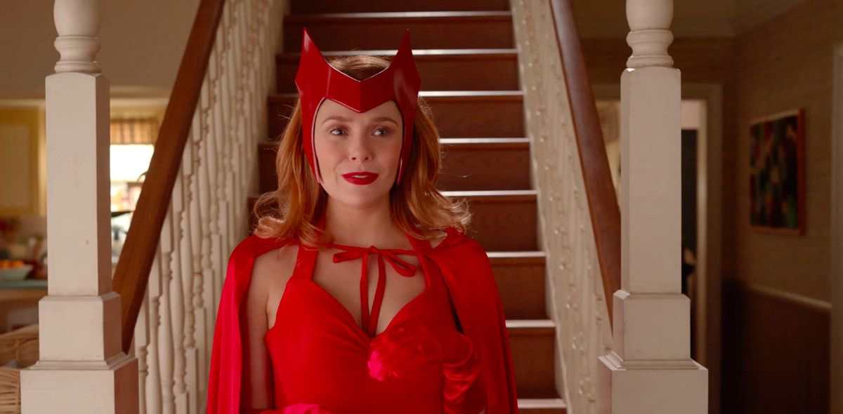 Scarlet Witch In Her Original Costume In 2020 Scarlet Witch Scarlet Witch Comic Disney Plus