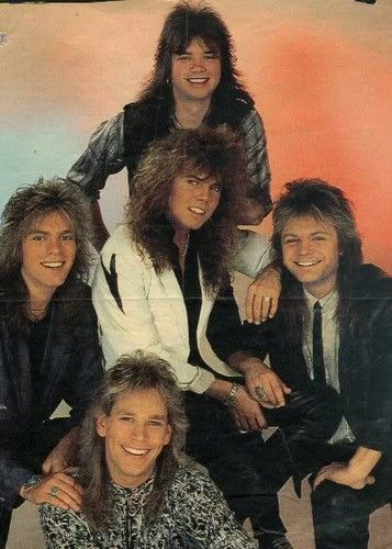 Groupe Hard Rock Année 80 : groupe, année, Europe, Photo:, Band,, Bands,, Metal, Bands