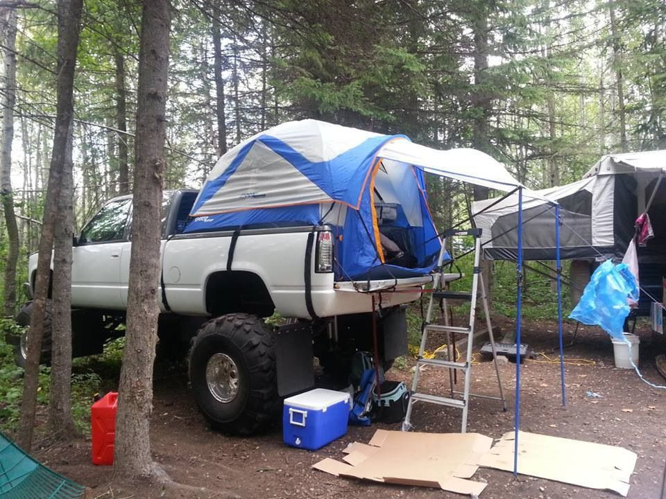 camping we love with a truck bed tent truck bed tent pinterest truck bed camping and. Black Bedroom Furniture Sets. Home Design Ideas