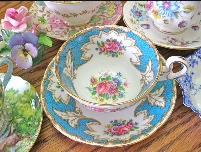 Royal Grafton TeaCup Spot of Tea? Pinterest Türkis, Mosaik und