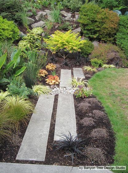 permeable pavers | Rain garden design, Rock garden design ...