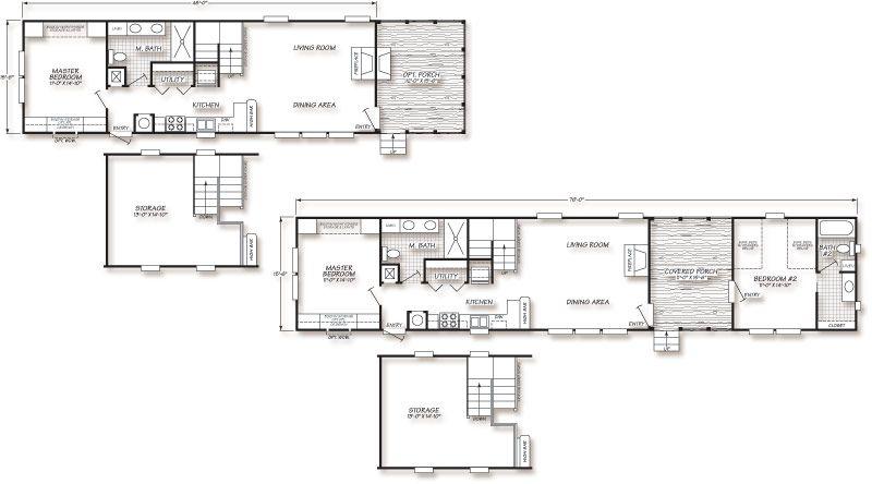 longest manufactured home floor plan - Google Search | Bunker Plans ...
