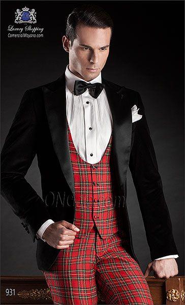 Traje de novio negro 931 ONGala Wedding suit