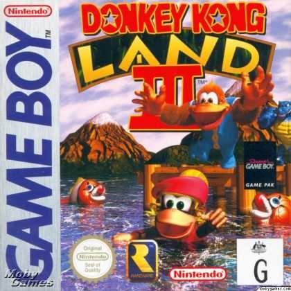 Donkey Kong Land Iii Donkey Kong Game Boy Juegos Retro