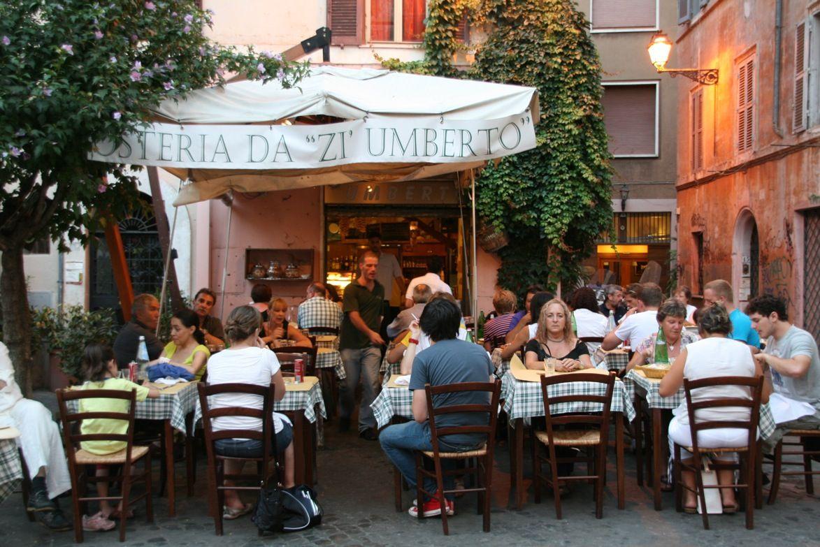 Zi Umberto A Typical Roman Restaurant Rome Restaurant
