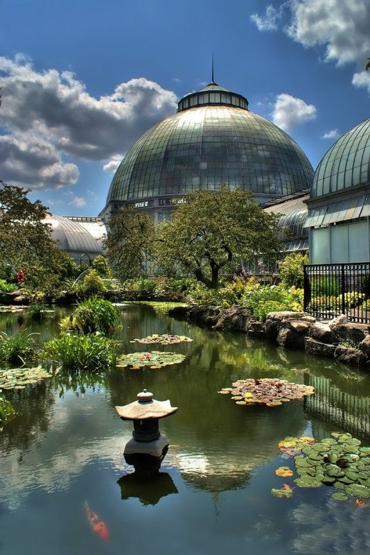 Detroit S Belle Isle Conservatory Yes It Is Really This Lovely