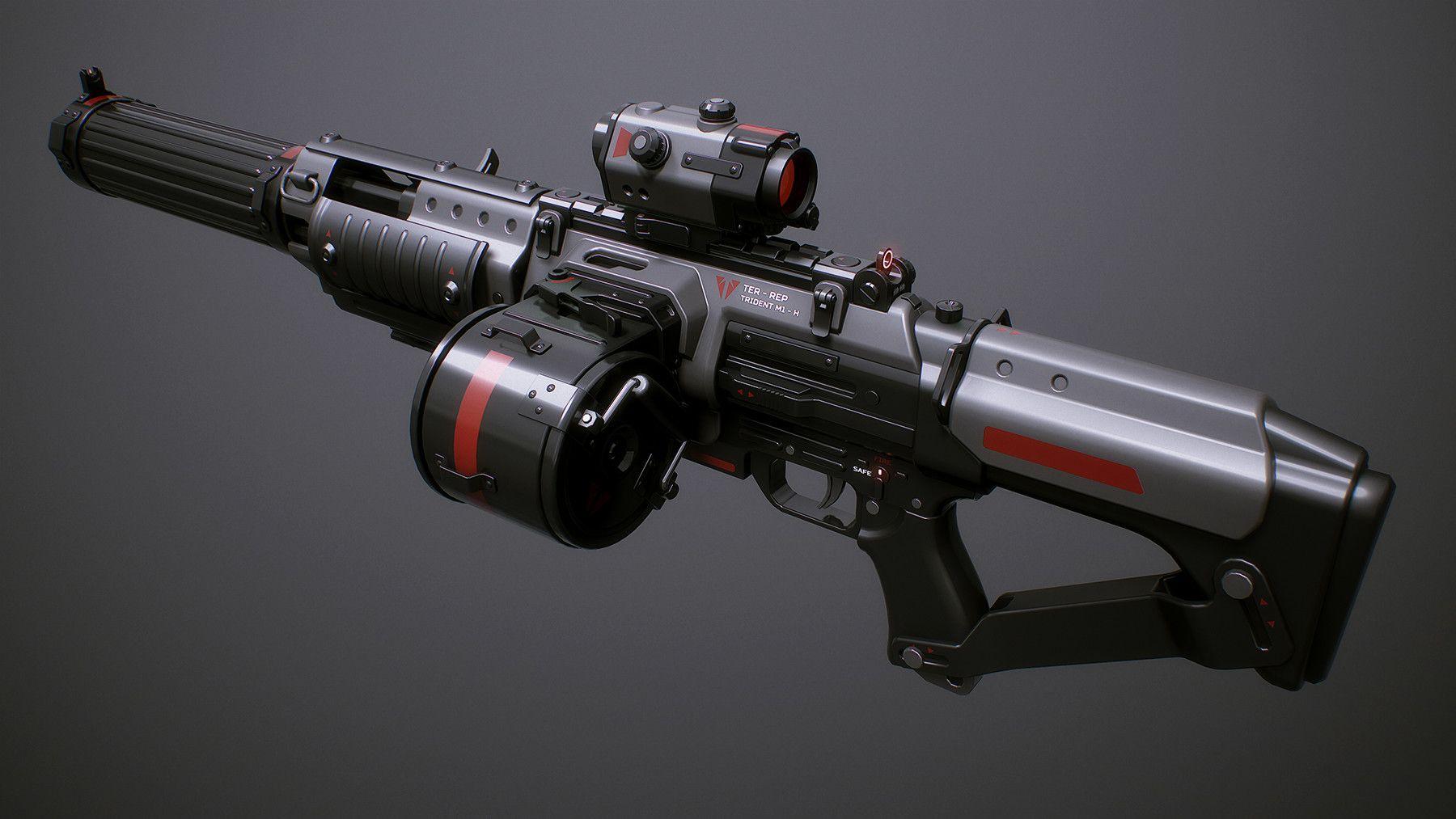 этого пулемет будущего картинки два