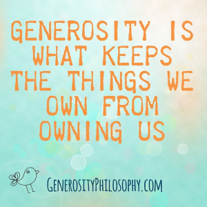 Generosity Quotes Generosity Quote From The Generosity Philosophy Podcast  In○Spire