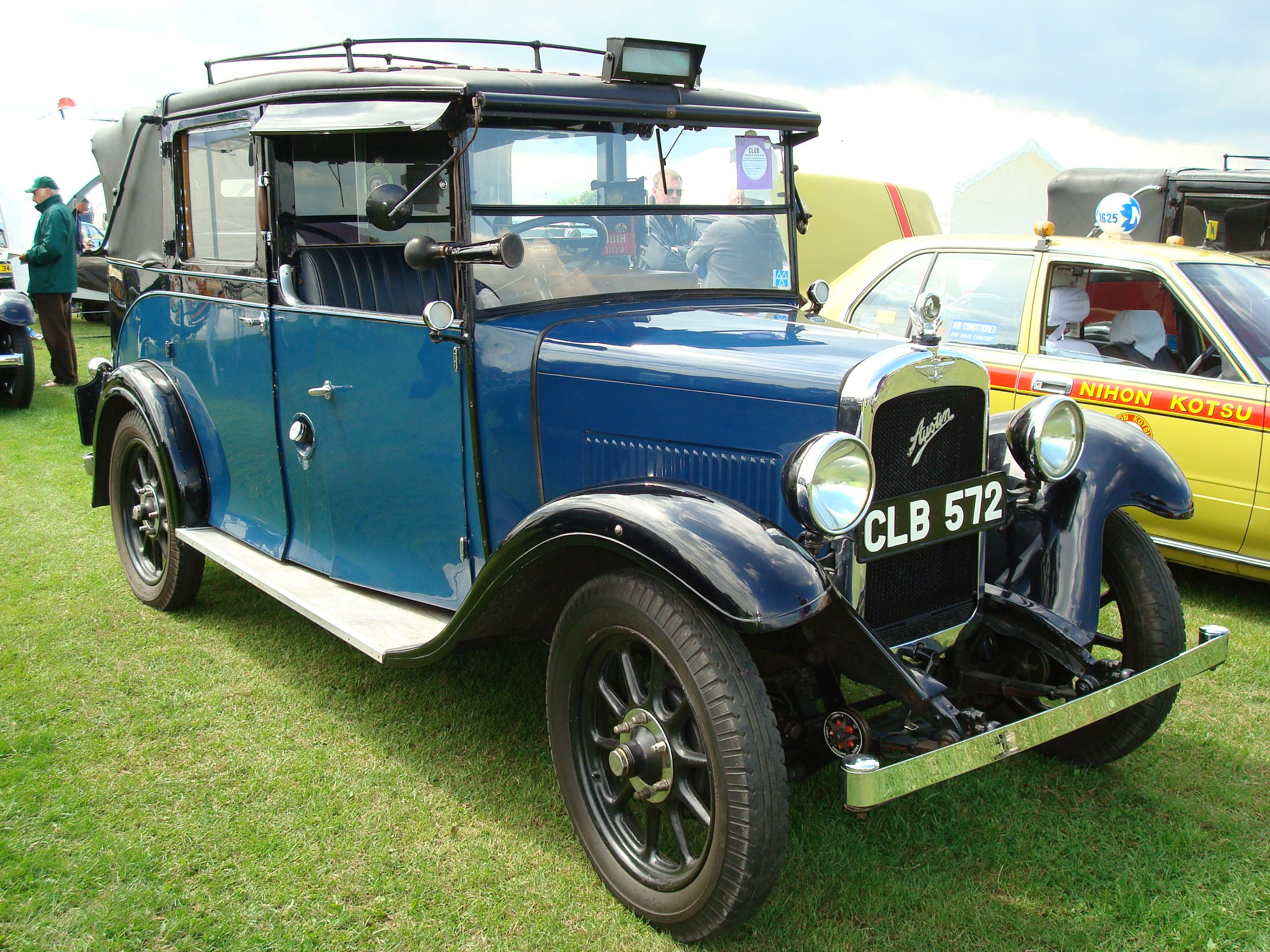 Currently for sale on the Car & Classic website - this 1935 Austin ...