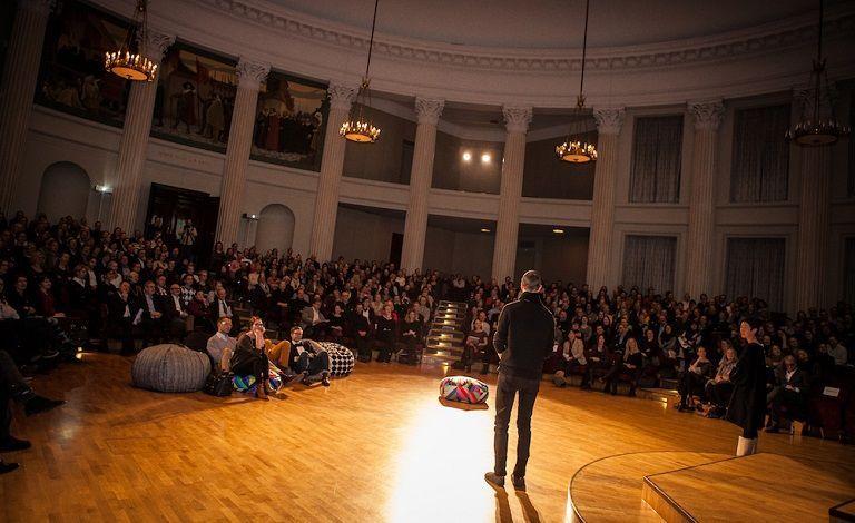 PechaKucha Night - Helsingin Yliopiston päärakennus, juhlasali, Helsinki - 29.3.2017 - Tiketti