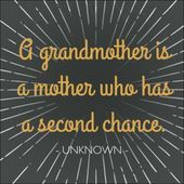 Sometimes we all need that second chance. Thank goodness for grandmothers! thest... Sometimes we all need that second chance. Thank goodness for grandmothers! thestir.cafemom.c... This image has get 266 repins. Author: Classic Legacy #chance #goodness #grandmothers #thest