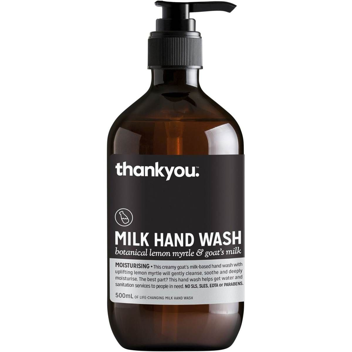 Thankyou Lemon Goat Milk Handwash Image Hand Washing Sweet