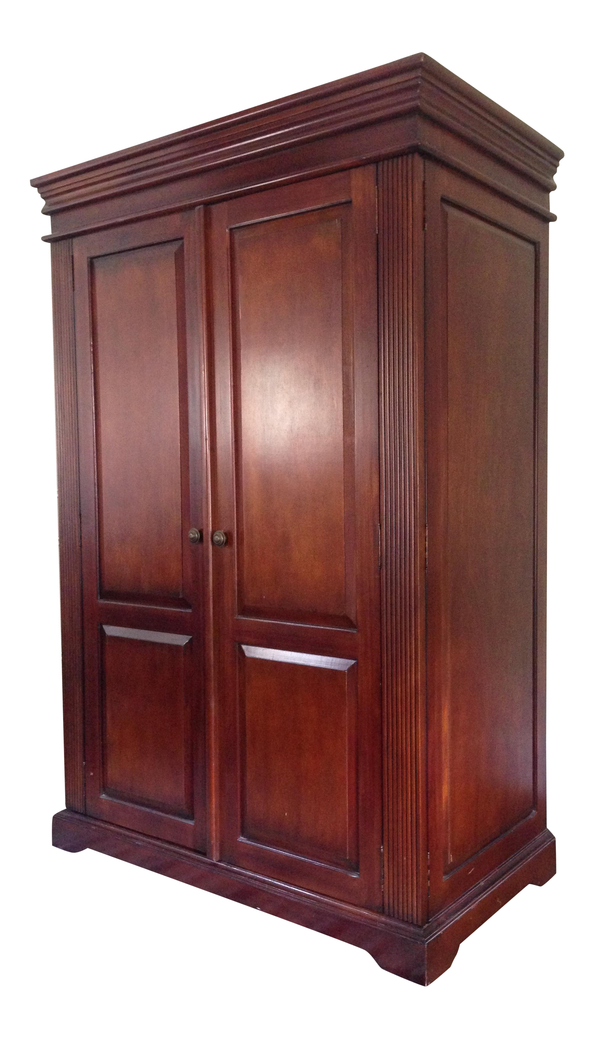 Classic Wood Armoire/Wardrobe on Chairish.com | Closet in 2019 ...
