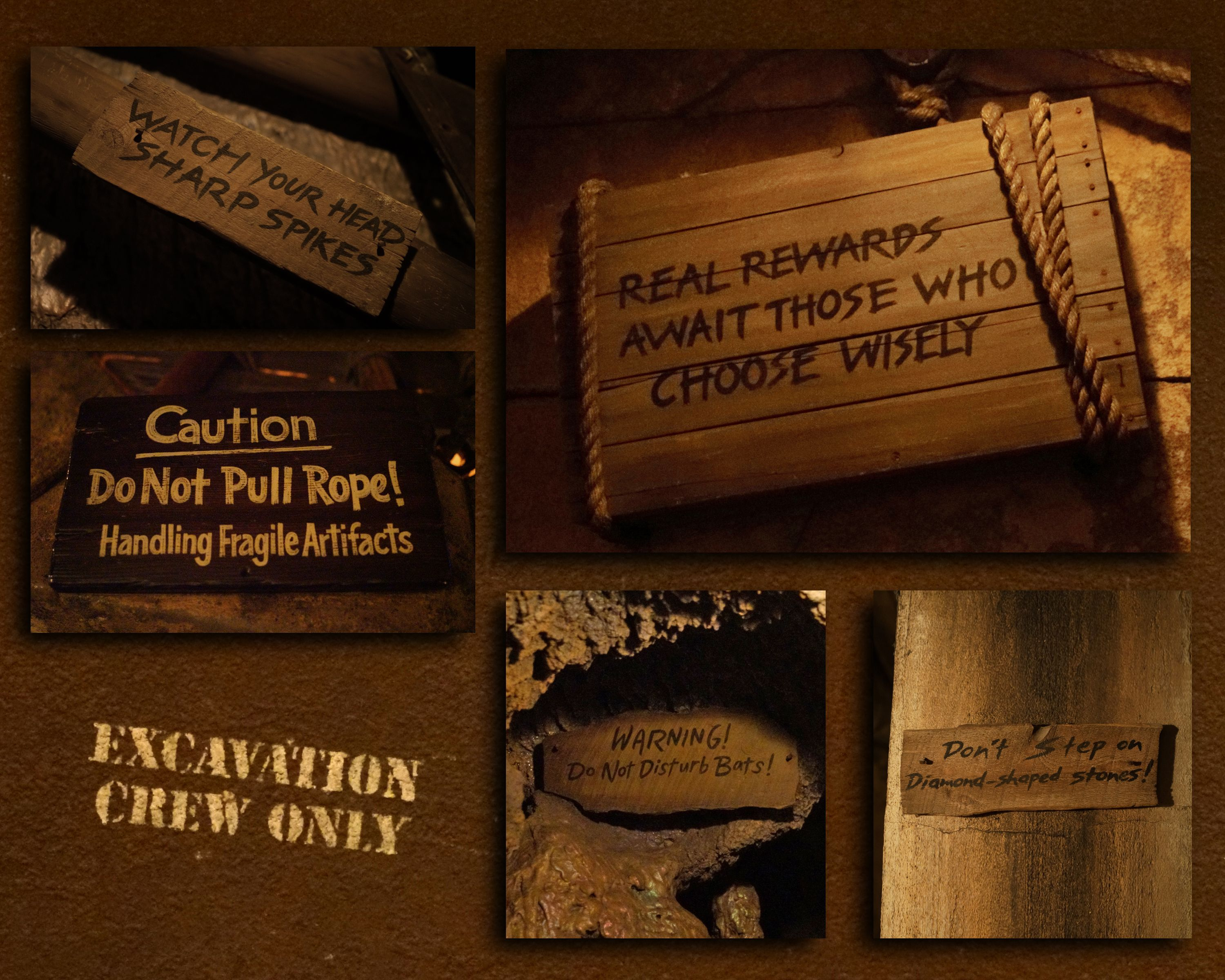 COLLECTOR/'S POSTER 4 SIZES TO CHOOSE FROM INDIANA JONES ADVENTURE DISNEYLAND