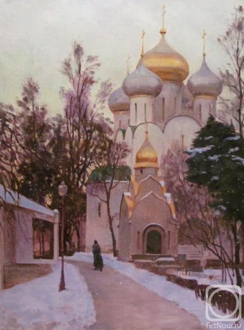 Лаповок Владимир. Зима в Новодевичьем