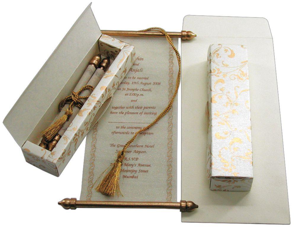 cinderellthemed wedding scroll invitations%0A Wedding Invitation   napkin fold   Pinterest   Scroll invitation  Bar  mitzvah and Bats