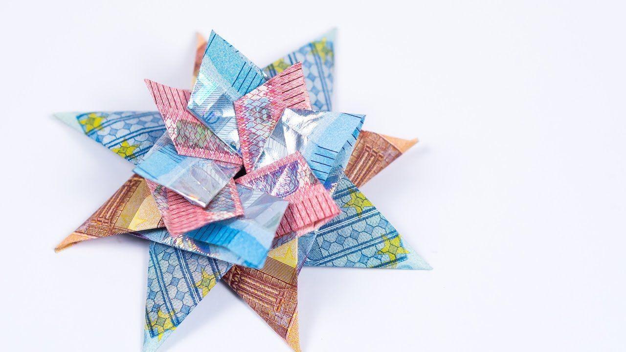 25+ Geld falten als stern Sammlung