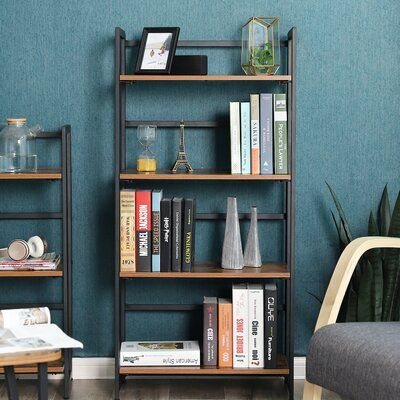 Williston Forge Parkins 4 Tier Portable Etagere Bookcase