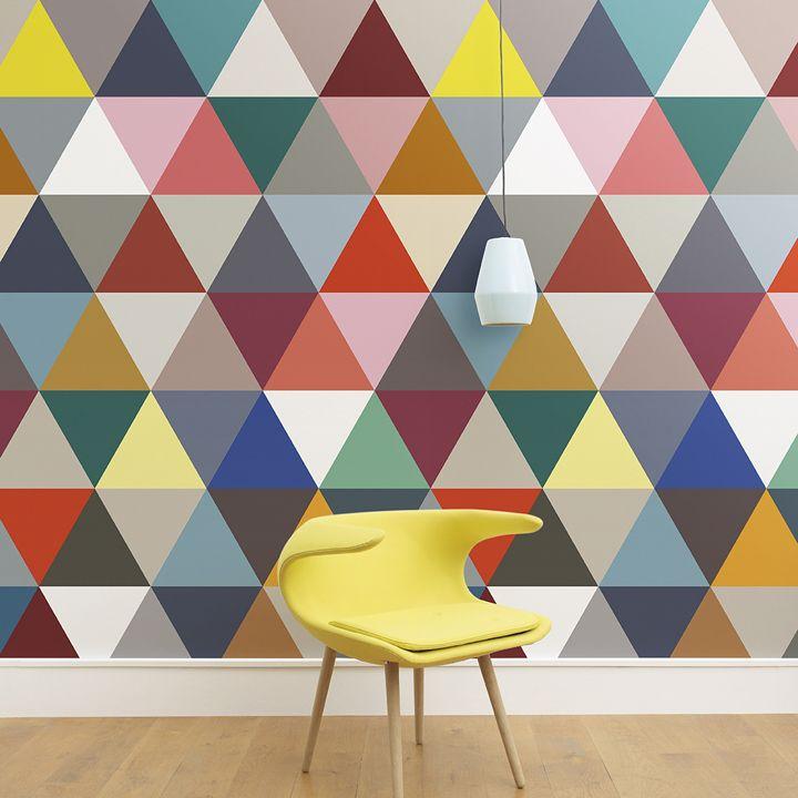 Papier peint  20 styles ultra-tendance pour des murs lookés