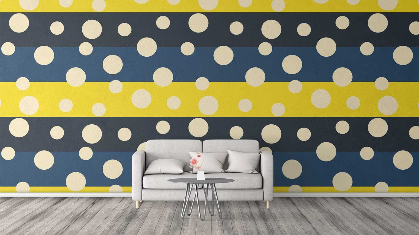 Dot pattern used as design for wall art #pattern #vector #design ...