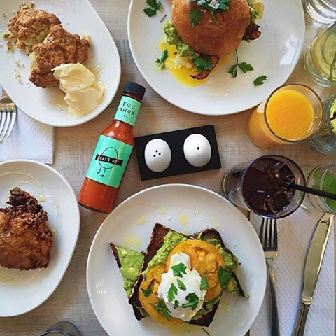 What does your Sunday brunch look like?  @gentslounge #eggsyall