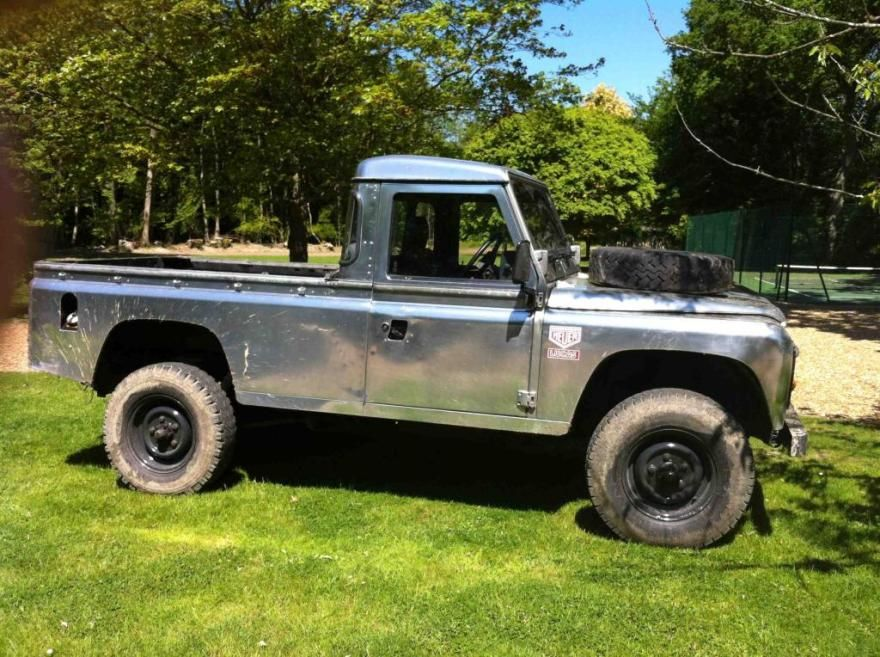 Land Rover Defender 110 Pick up 1983 See Text For Sale, (Car Advert