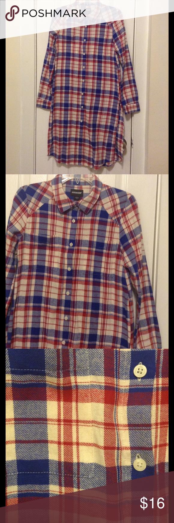 Dress up flannel shirt  Dope Versatile Flannel Shirt Dress w side slits   Flannels and Shorts