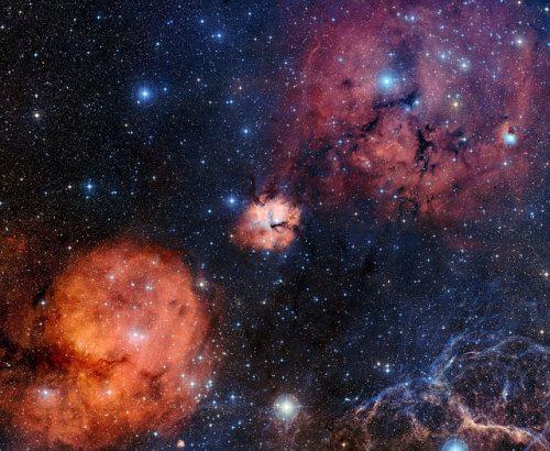 GUM 15 star forming region. js