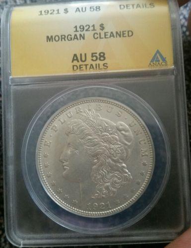 1921 $1 Morgan Silver Dollar. No reserve.  https://t.co/xGhmo3Ehju https://t.co/guanhHcCRE
