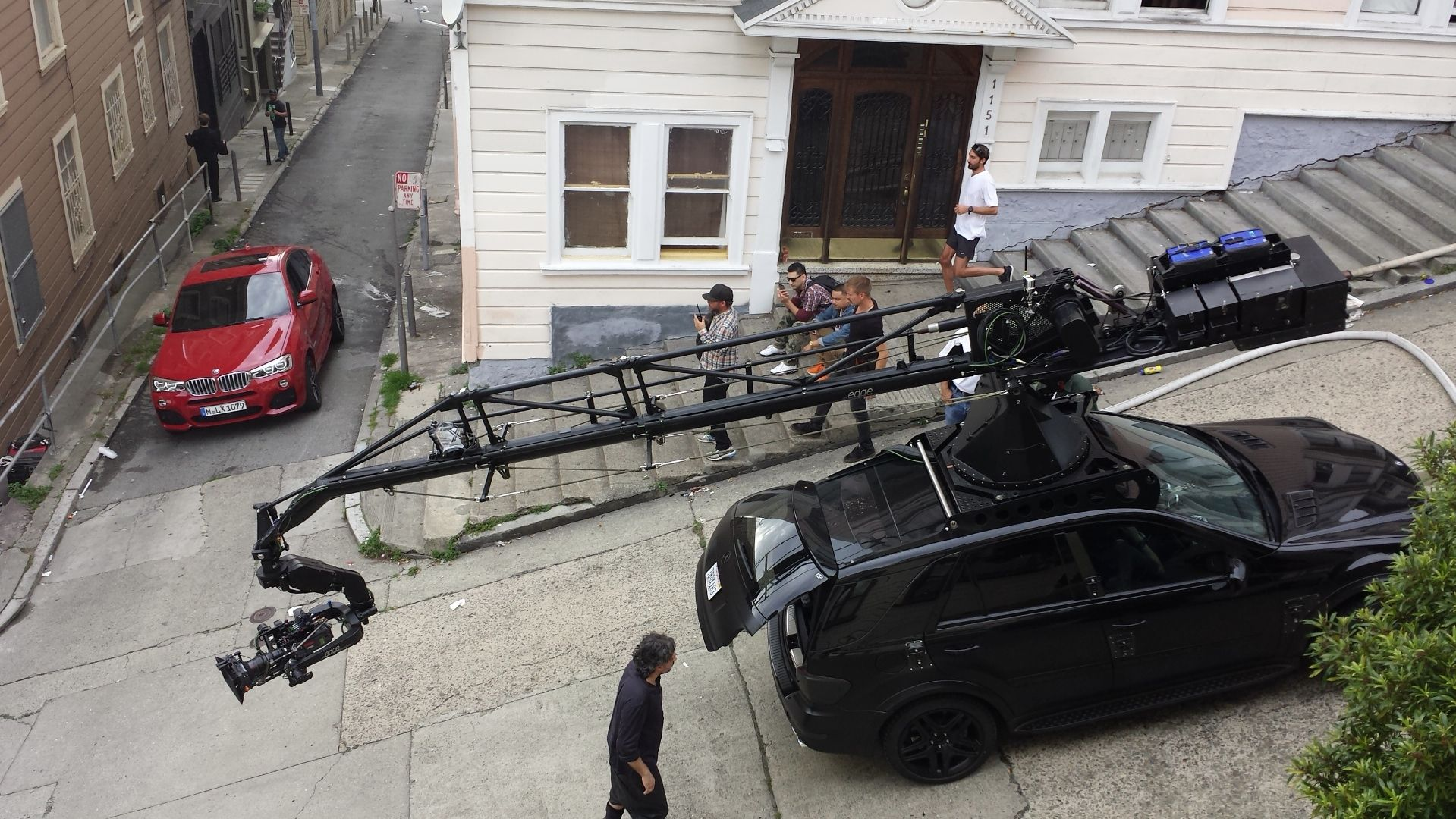 ML 63 AMG Camera Car Does BMW X4 Commercial Shoot [Video]