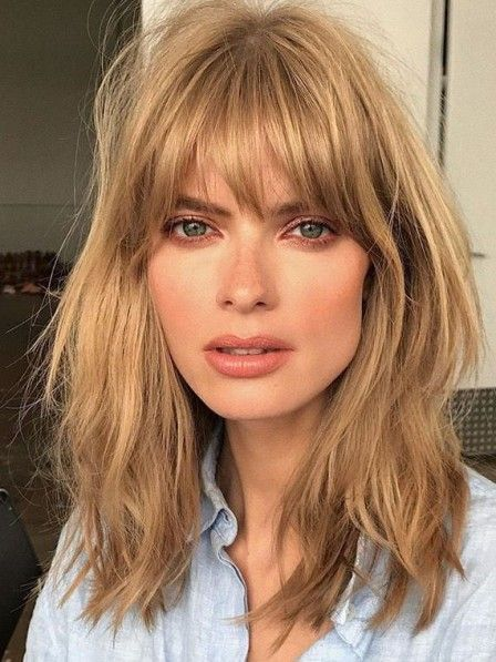 Bangs Hairstyles To Inspire You In Summer - Girlsi