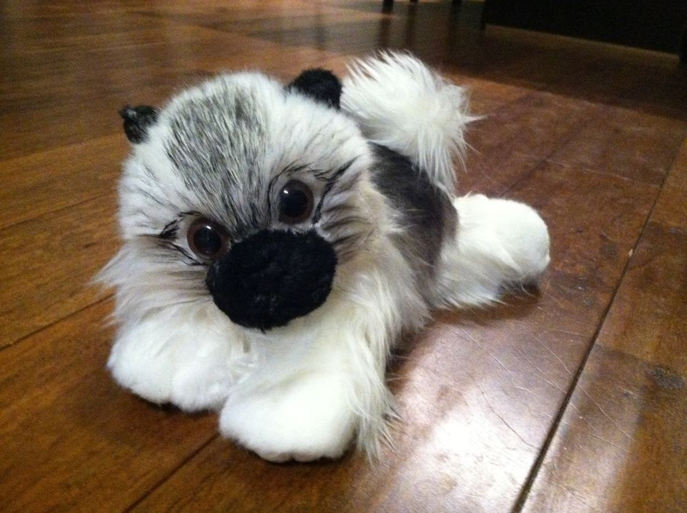Keeshond Stuffed Dog Dogs