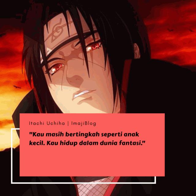 Itachi Uchiha Quotes Kata Kata Mutiara Kata Kata Indah Gambar