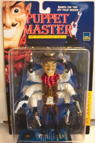 Amazon Com Puppet Master The Action Figure Series Six Shooter Toys Games Action Figures Puppets Horror Action Figures