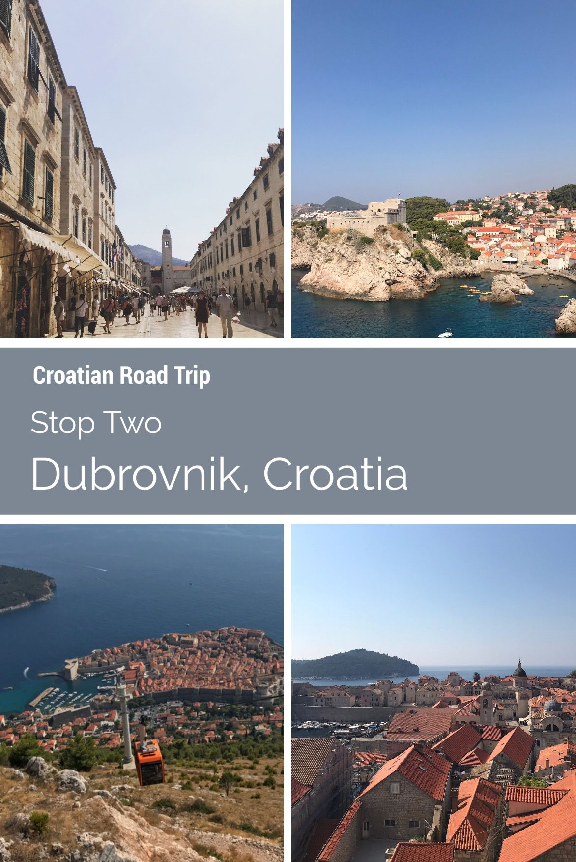 Dubrovnik Croatia Stop Two On Our Road Trip Read My Post About My Two Day Stay In The City Of Dubrovnik Croatia Our Road Trip Europe Croatia Beach Croatia