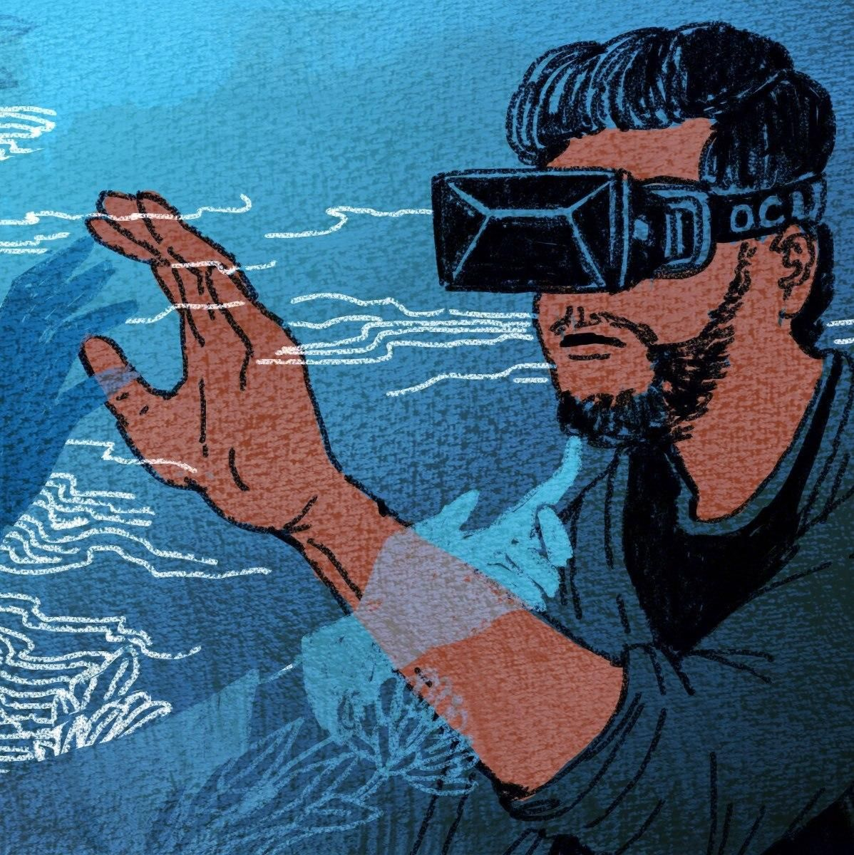 virtual reality in a real physical Virtual reality (vr) will provide the ultimate level of immersion, creating a sense  of physical presence in real or imagined worlds vr accomplishes this by.
