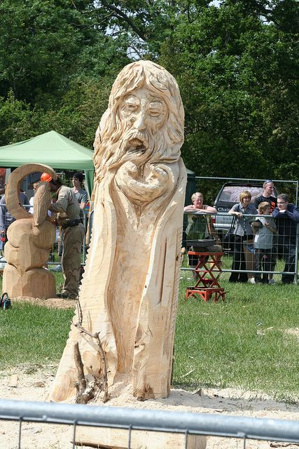 chainsaw carving - woodfest 2010 | chainsaw carving | pinterest, Gartengerate ideen