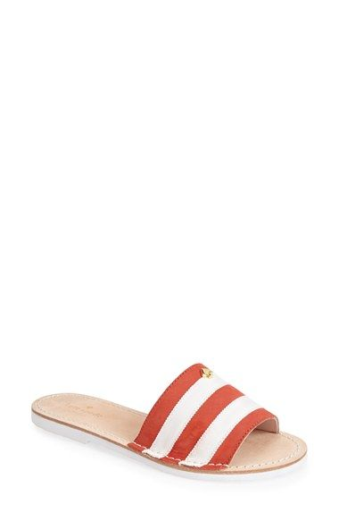86c0bbc687d8 Free shipping and returns on kate spade new york  imperiale  slide sandal  (Women) at Nordstrom.com. More elegant than your standard flip-flop