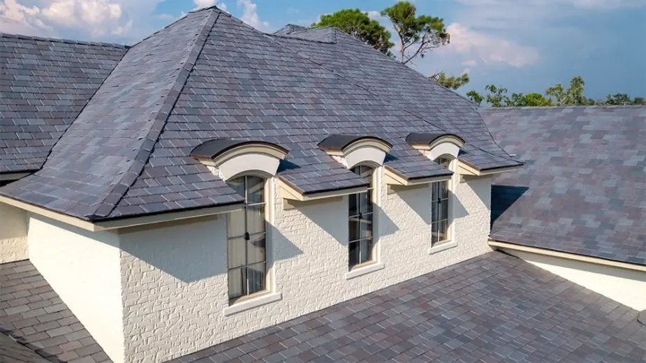 Synthetic Slate Roofing An In Depth Guide In 2020 Synthetic Slate Synthetic Slate Roofing Roofing