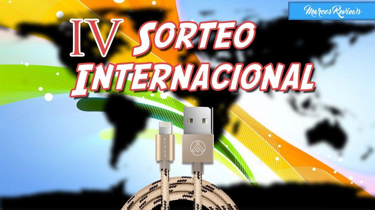 4º Sorteo Internacional. Cables 2 en 1 ALDOM.
