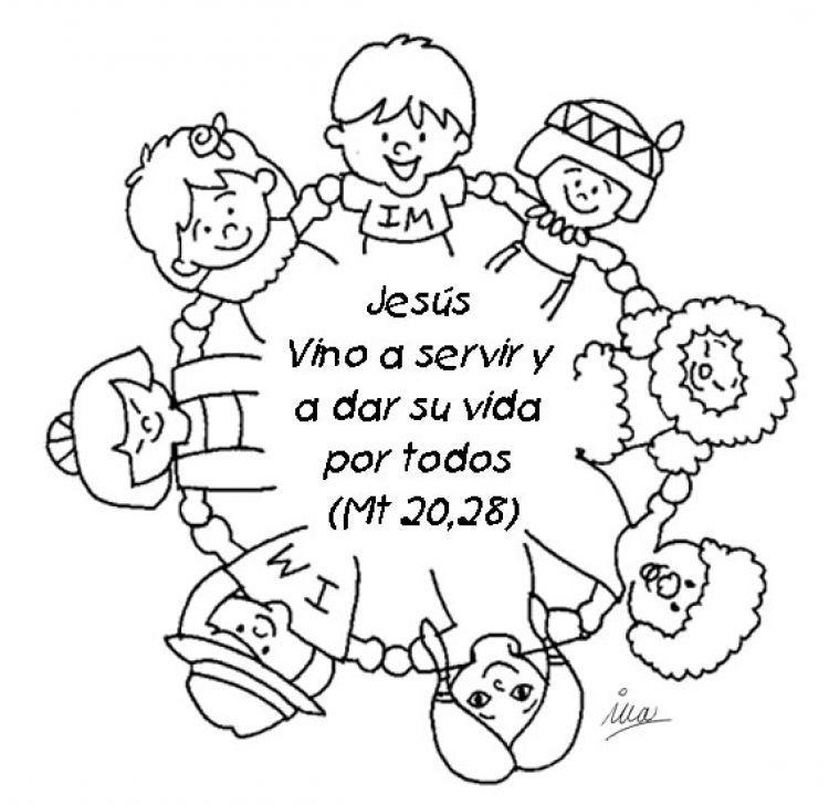Dibujos para colorear cristianos - Dibujos cristianos ...
